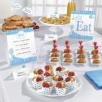 Buffet Kit Communion Chruch blue 12 parts