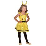 Child Costume Pikachu Dress 4 - 6 Years