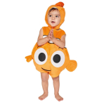 Children's Costume Nemo Plush Tabard with Feature Hat 3-6 Months