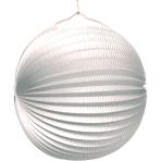Lantern White Paper 25 cm