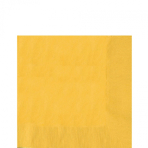 50 Napkins Sunshine Yellow 33 x 33 cm