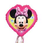 Pull Pinata Minnie Mouse Outline Paper / Plastic 46.3 x 48.2 x 8.2 cm