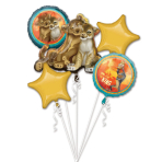 Bouquet Lion King Foil Balloon P75 Packaged
