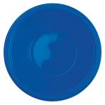 10 Bowls Plastic Bright Royal Blue 355ml
