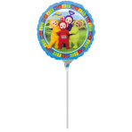 "9"" ""Teletubbies"" Foil Balloon Round, A20, airfilled, 23cm"