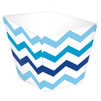 36 Treat Cups Paper Minis blue4,4 x 4,4 x 4,9cm