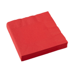 20 Napkins Apple Red 33 x 33 c