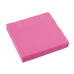 20 Napkins Bright Pink 33 x 33 cm
