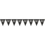 Pennant Banner Sparkling Celebration age 80 Prismatic Foil