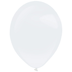 """50 Latex Balloons Decorator Pearl Frosty White 35 cm / 14"""""""