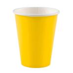 8 Cups Sunshine Yellow Paper 250 ml