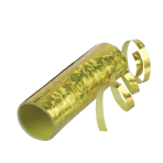 Streamer Holographic Gold 0.7 x 400 cm