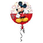 Standard Mickey Portrait Foil Balloon S60 Packaged 43 cm
