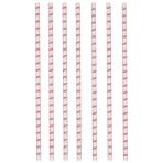 12 Drinking Straws Flamingo Paradise Paper 19.7 cm