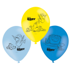 6 Latex Balloons Finding Dory 22.8 cm / 9""