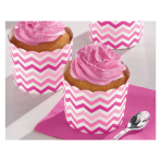 24 Snack Cups Paper Minis pink7,3 x 7,3 x 2,8cm
