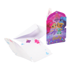 8 Invitations & Envelopes Shimmer & Shine Paper 8 x 14.1 cm
