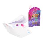 8 Invitations & Envelopes Shimmer & Shine