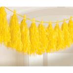 Tassel Garland Yellow 3 m