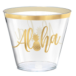 30 Cups Aloha Plastic 266 ml