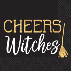 16 Napkins Cheers Witches 25 x 25 cm