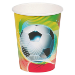 8 Cups Soccer Party 266 ml