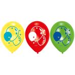 6 Latex Balloons Balloons 22.8 cm/9''