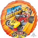"Sing-A-Tune ""Mickey Roadster Racers"" Foil Balloon  , P75, packed, 71 x 71cm"