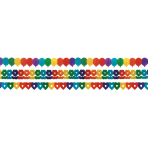 Garland Rainbow Paper 20 x 400 cm