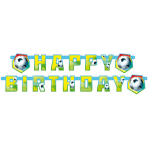 Banner Soccer Party 180 x 15 cm