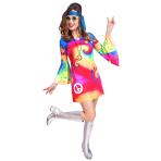 Adult Costume 60's Free Spirit Woman Size S