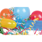 Party Pack Balloons & Streamers 27 Pieces
