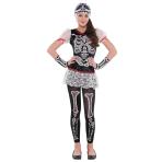 Children's Costume Sassy Skeleton 14 - 16 Years