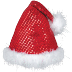 Hat Santa Sequined One Size
