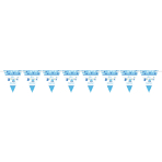 Pennant Banner Shower With Love - Boy Paper 457 x 17.7 cm