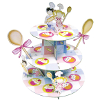 Cake Stand Little Cooks Three Levels 35 x 30 cm