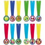 12 Award Medals Super Mario
