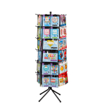 Spinner Display 60 Pegs 61 x 61 x 183 cm