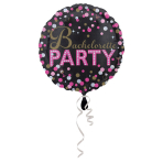 Standard Bachelorette Sassy Party Foil Balloon Round S55 Packaged 43 cm
