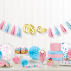 Tassel Garland The Big Reveal Paper Length 240 cm