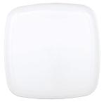 Platter Plastic White Squared 35.5 cm