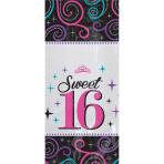 20 Cello Bags Sweet 16 Small