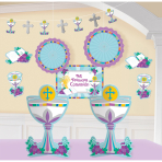 Decorating Kit Mi primera Communion 12 Pieces