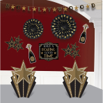 Decoration Kit Glitz & Glam Paper / Foil 10 Pieces 304 cm / 25.4 - 30.4 cm