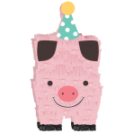 Standing Decoration Barnyard Birthday Paper 17.7 x 8.8 cm