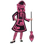 Children's Costume GID Stick Witch 4-6 yrs