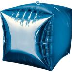 Cubez Blue Foil Balloon G20 Bulk 38 x 38 cm