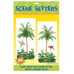 2 Scene Setter Add-Ons Palm Tree Plastic 165 x 85 cm