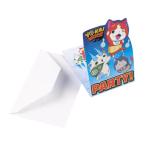 """8 Invitations & Envelopes """"Yo-kai Watch"""", mit Umschlägen"""