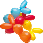 4 Latex Balloons Giant Rabbit Shapes